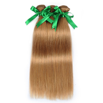 Vvwig #27 Hair Brazilian Unprocessed Hair Straight Hair 3 Bundles With Closure 4*4 Inch Lace Tangle And Shedding Free - Vvwig.com