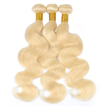 Vvwig Premium 613 Human Hair Weave Good Feeling Body Wave Hair 3 Bundles With Closure 4*4 Inch Lace Tangle Free - Vvwig.com