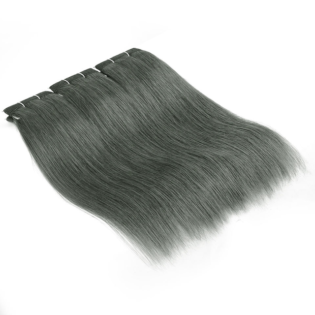 Vvwig Linen Ash Straight Bundles Indian Extensions Soft And Easy To Style Silky Straight Weave Hair 3 Bundles