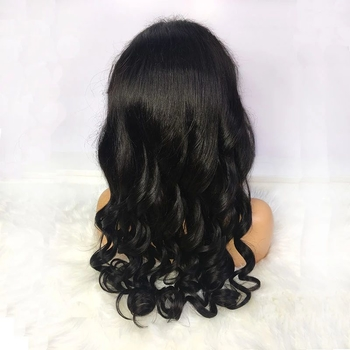 Vvwig Pre Made Glueless Human Hair Lace Front Wigs 150 Density Realistic Loose Wave Hair 13x4 Lace Wig - Vvwig.com