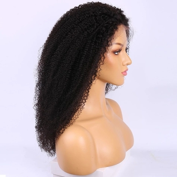 Vvwig Premium Kinky Curly Wigs 150 Density Realistic Human Hair Wig Breathable 13x4 Lace Wig For Women - Vvwig.com