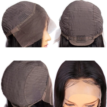 Vvwig Natural Hair Colors Peruvian Straight Wigs Pre Plucked Natural Hairline Human Hair Lace Front Bob Wigs - Vvwig.com
