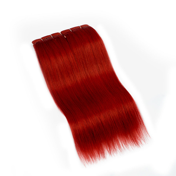 Vvwig Red Color Silky Straight Bundles Virgin Hair Natural And Comfortable Indian Human Hair 2 Bundles - Vvwig.com