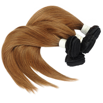 Vvwig Virgin Hair 1B 30 Ombre Color Healthy Hair End 3 Bundles With Straight Hair Closure No Lice Or Knit - Vvwig.com