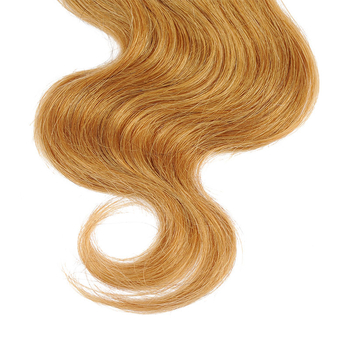 Vvwig Virgin Hair Not Easily Changed Texture 1B 27 Ombre Hair No Animal Fur Mixed 4 Bundles With Body Wave Closure - Vvwig.com